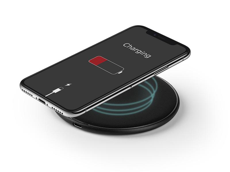 Bežični punjač za mobilne telefone Pad