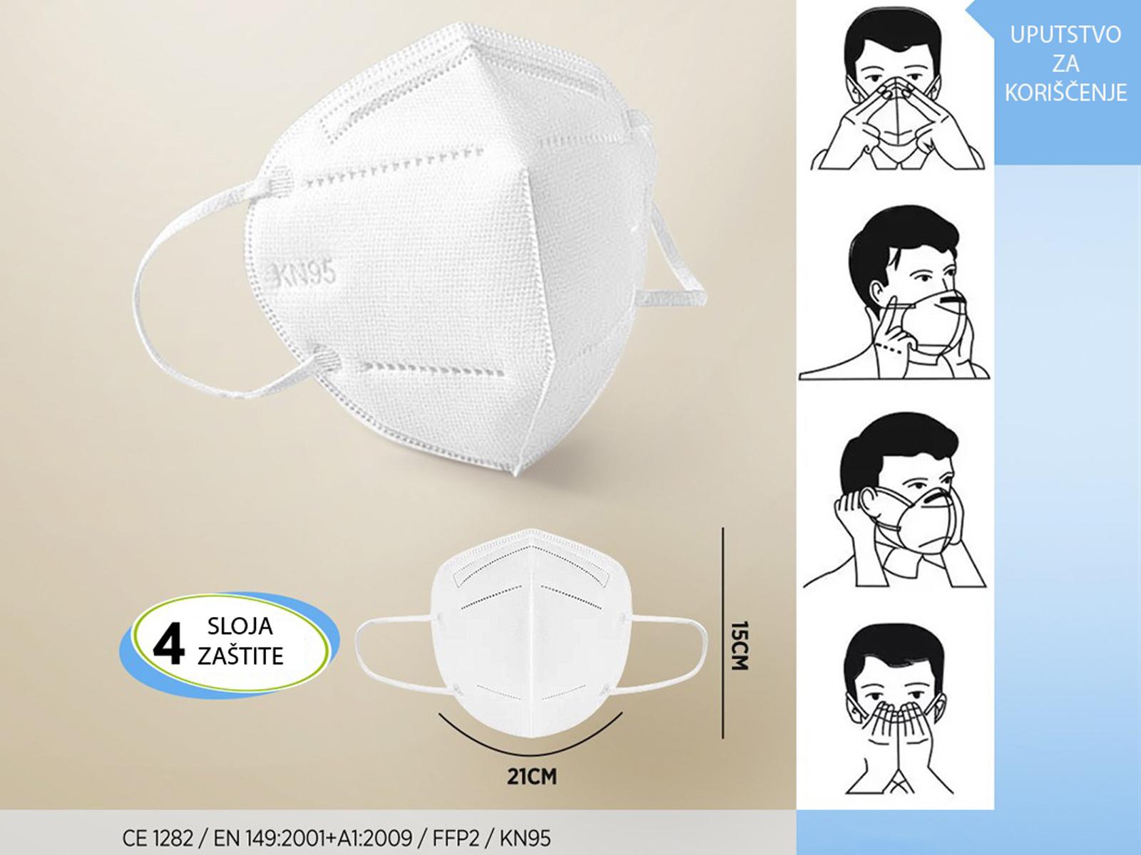 Zaštitne maske FFP2/KN95