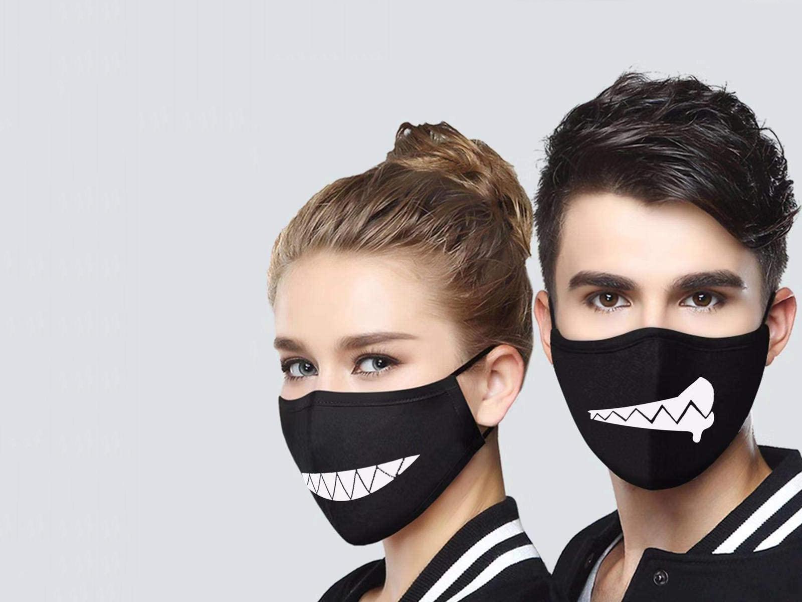 Pamučne štampane maske