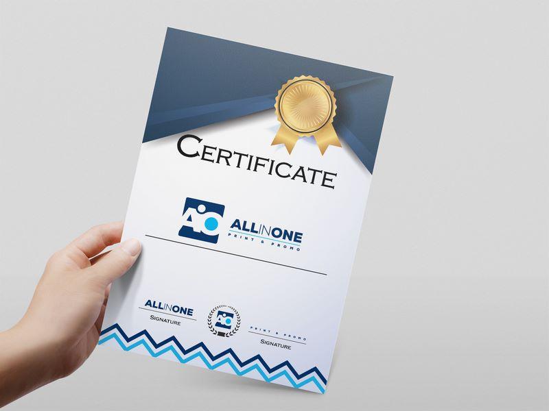 Stampanje sertifikata