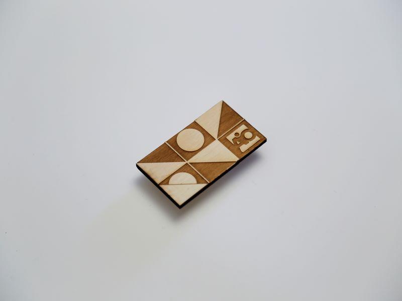 Drvene vizitkarte gravura